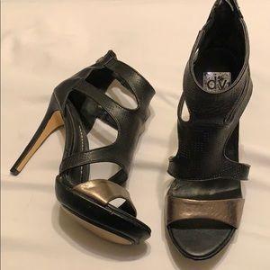 Dolce Vita strappy platform cage heels